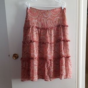 The Limited,Silk skirt,Size 12